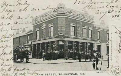 Pun in Ann Street, Plumstead. Photo:                           Clare Crawford.