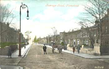 Burrage Road c.1905. Photo: Greenwich                           Heritage Centre