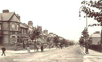 Griffin Road c.1905. Photo: Greenwich                           Heritage Centre