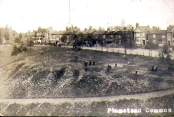 Postcard of Plumstead Common c.1910.                             Photo: Mike Lucas