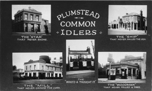 Postcard of Plumstead's