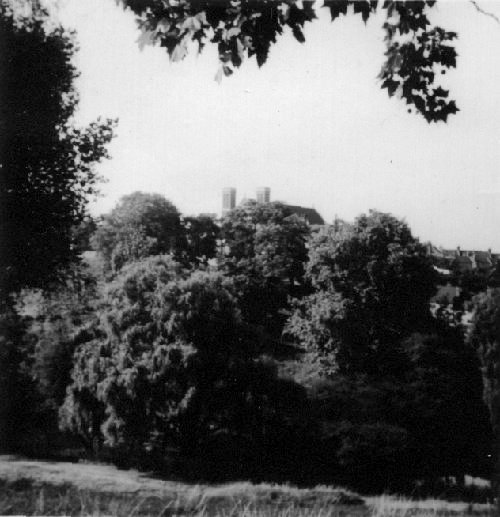 A glimpse of St. Mark's (tower tops only                           are visible) looking across Plumstead Common                           and the ravine. Photo: Colin Weightman                           See stories Clean Lake, Dirty Lake, Our Lake                           Districts and Baked Spuds and Tea Leaves
