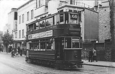 One of                           the old trams mentioned in many a story.                           Photo: Alan Gibbs.