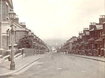 Ancona Road c.1900. Photo: Greenwich                             Heritage Centre