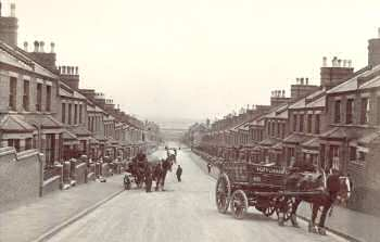 Orchard Road, c.1900. Photo: Greenwich                             Heritage Centre
